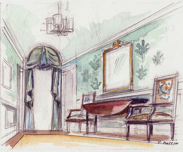Interior designer cloud atlas for Interior designs sketches